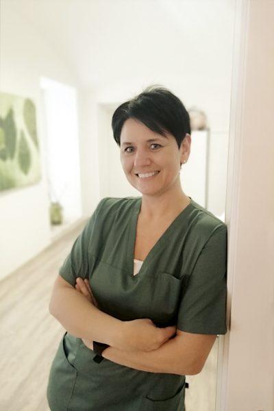 Radiologietechnologin, Assistentin, RT Katrin Pöck - Ordination Maria Rain Kärnten - Portrait Ärzteteam
